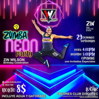 Zumba Neon Party