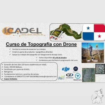 Curso de Topografia con Drone