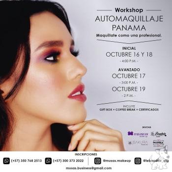Workshop Automaquillaje Panamá