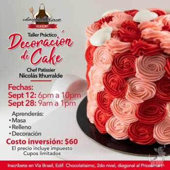 Curso Básico de Decoración de Cake