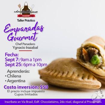 Taller práctico empanadas gourmet