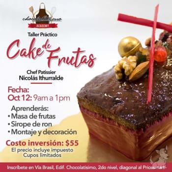 Taller Práctico Cake de Frutas
