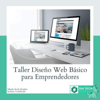 Taller Diseño web básico para emprendedores