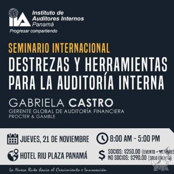 Seminario: Destrezas y Herramientas para la Auditoría Interna