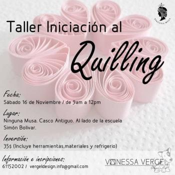 Taller: Iniciación al Quilling