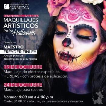 Seminarios - Talleres Maquillajes Artísticos para Halloween
