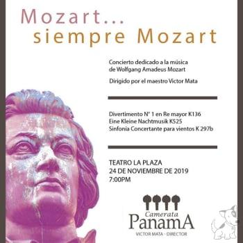 Mozart siempre Mozart