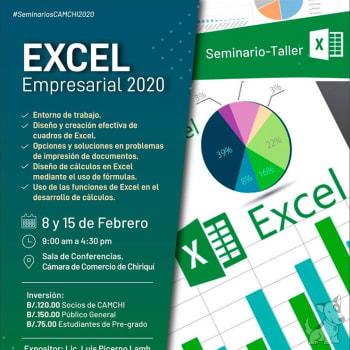 Seminario Taller Excel Empresarial 2020