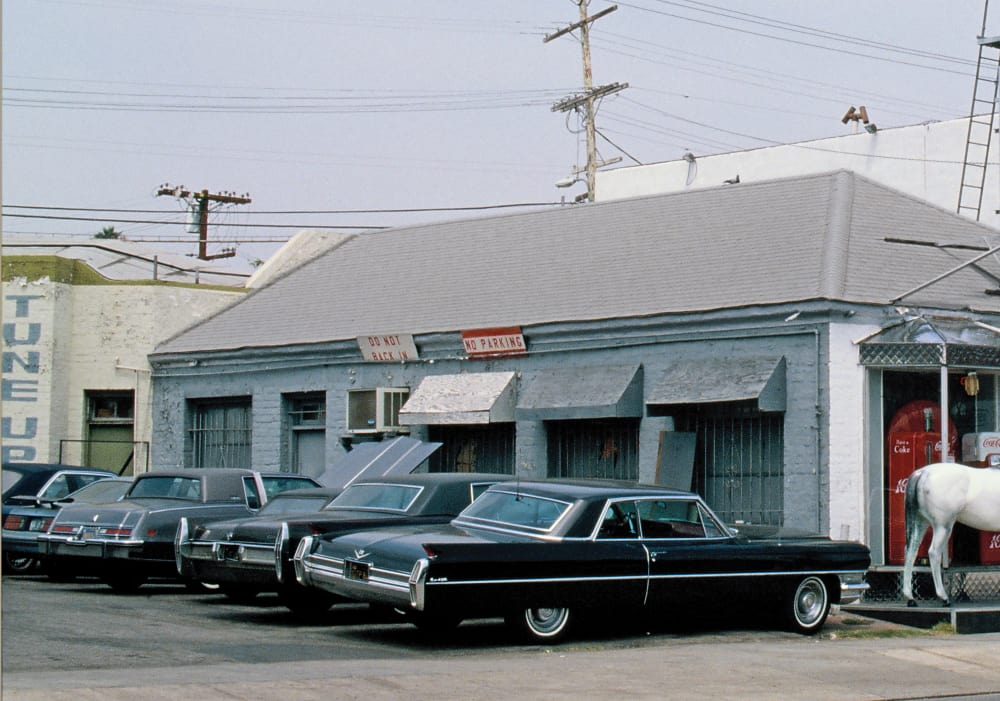 Cadillacs in Los Angeles - Michel Tréhet