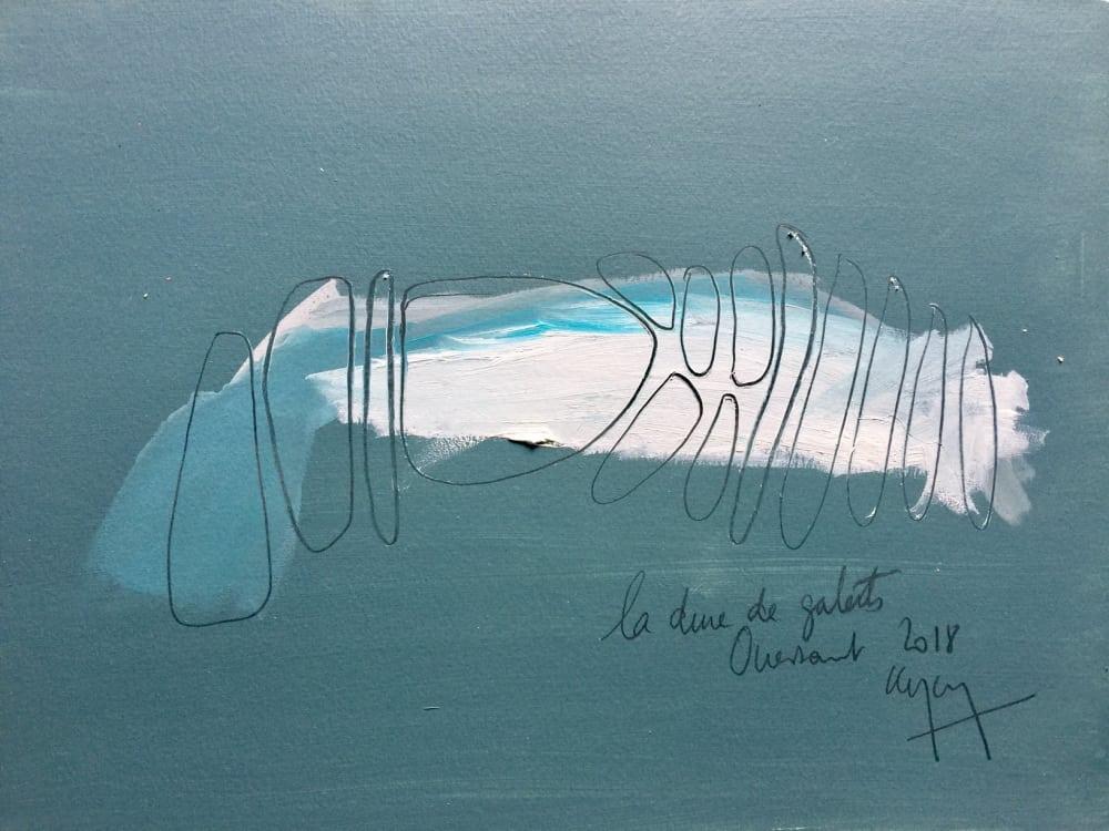 Dune de galets - Nathalie Leverger