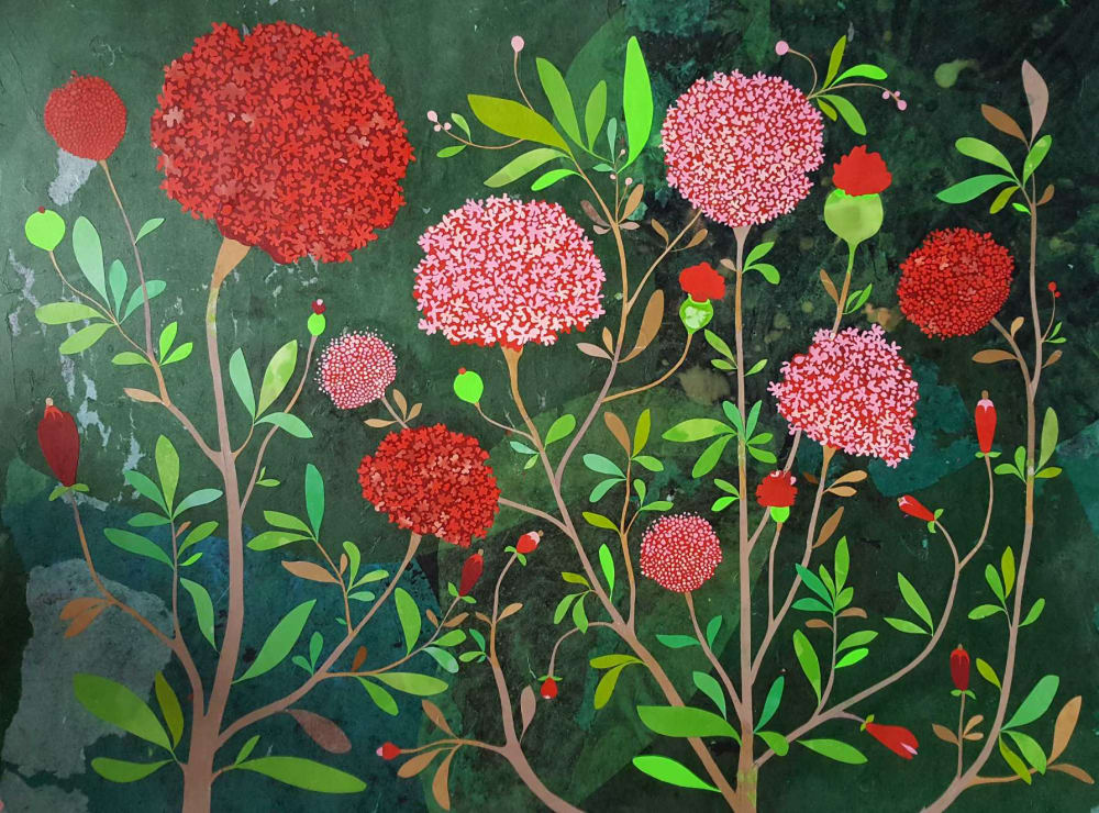 Les hortensias  - Karine Daisay