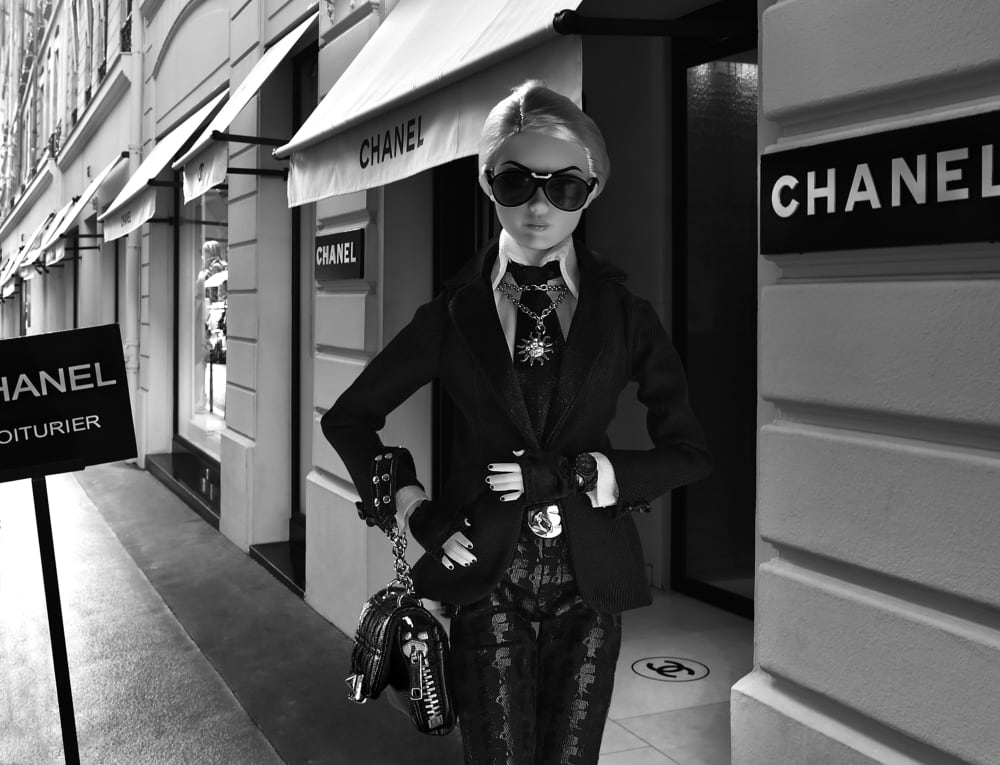 Barbie Story Karl Lagerfield  - Michel Tréhet