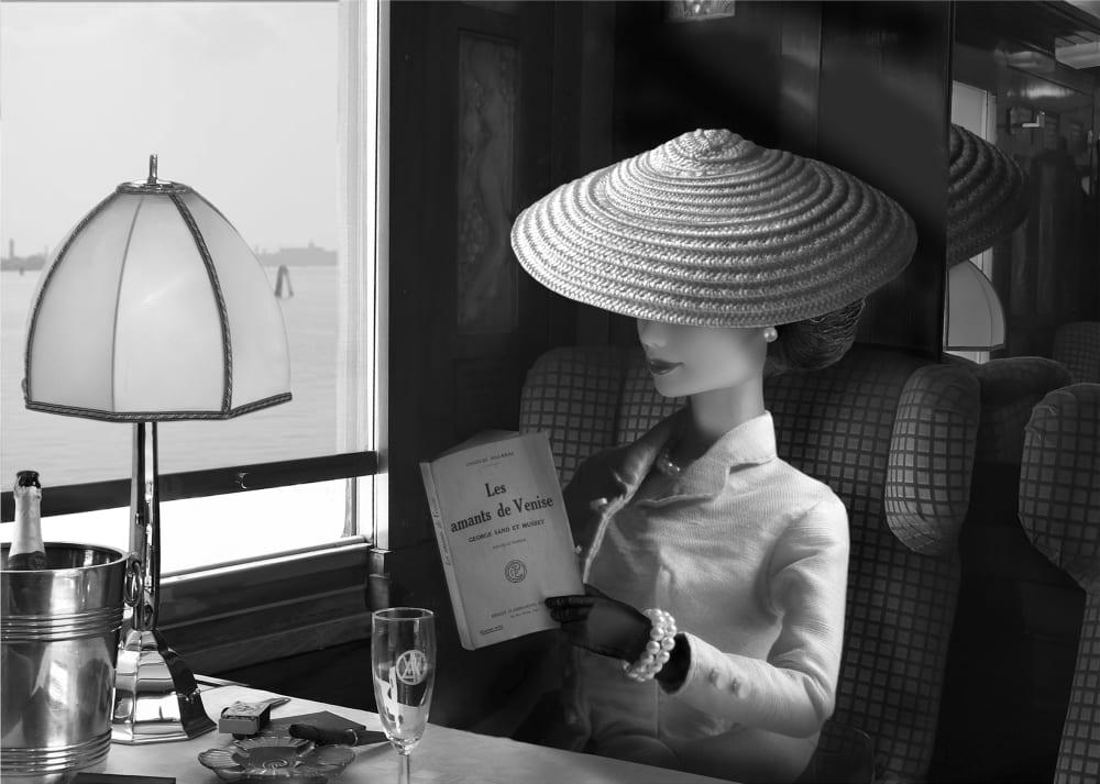 Arrivée en gare de Venise dans l'Orient Express  - Michel Tréhet