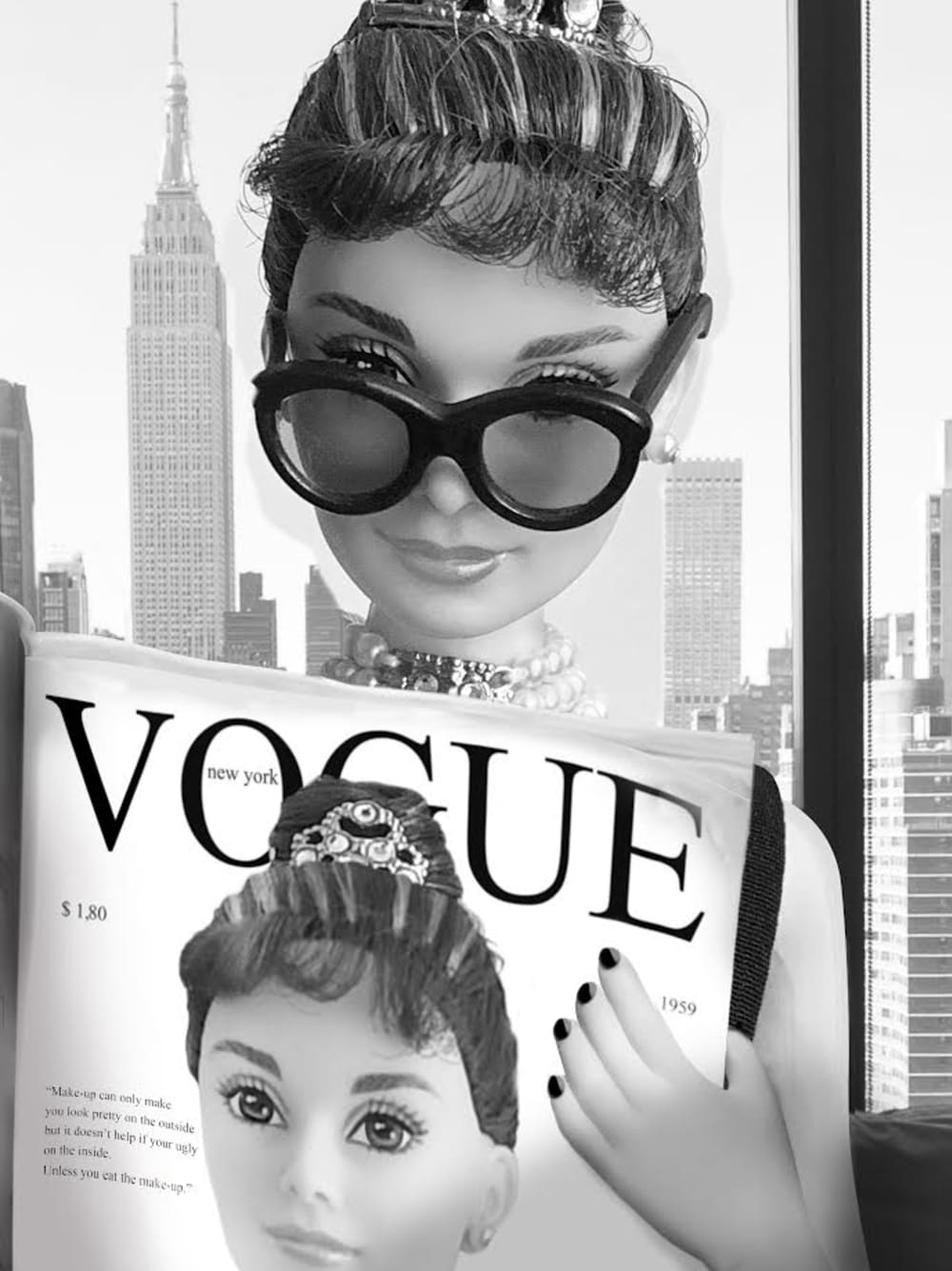 Lecture du Vogue à New York en 1961 - Michel Tréhet