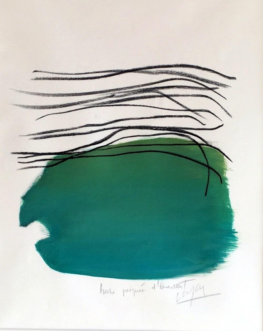 Herbe peignée à Ouessant - Nathalie Leverger