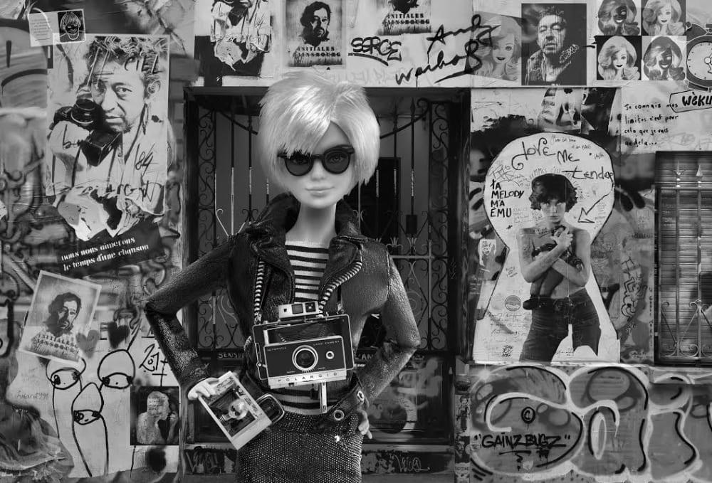 Barbie dans la peau d'Andy Warhol  - Michel Tréhet