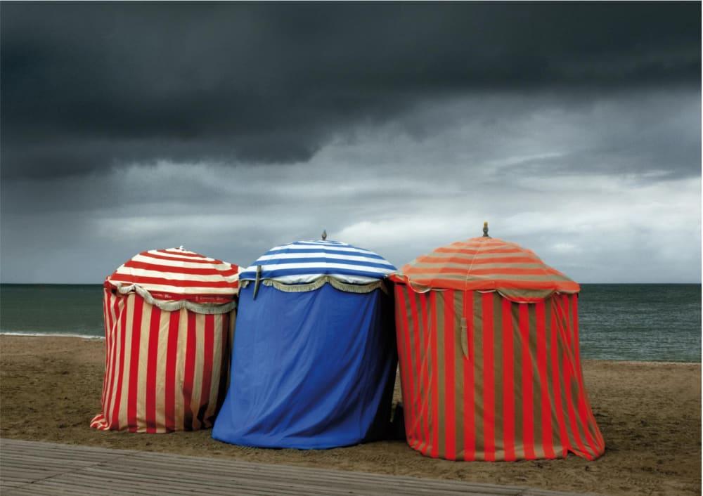 Les trois tentes.  - Michel Tréhet