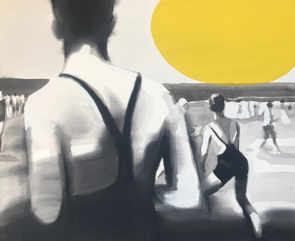 Jeux de plage  - Valérie Betoulaud