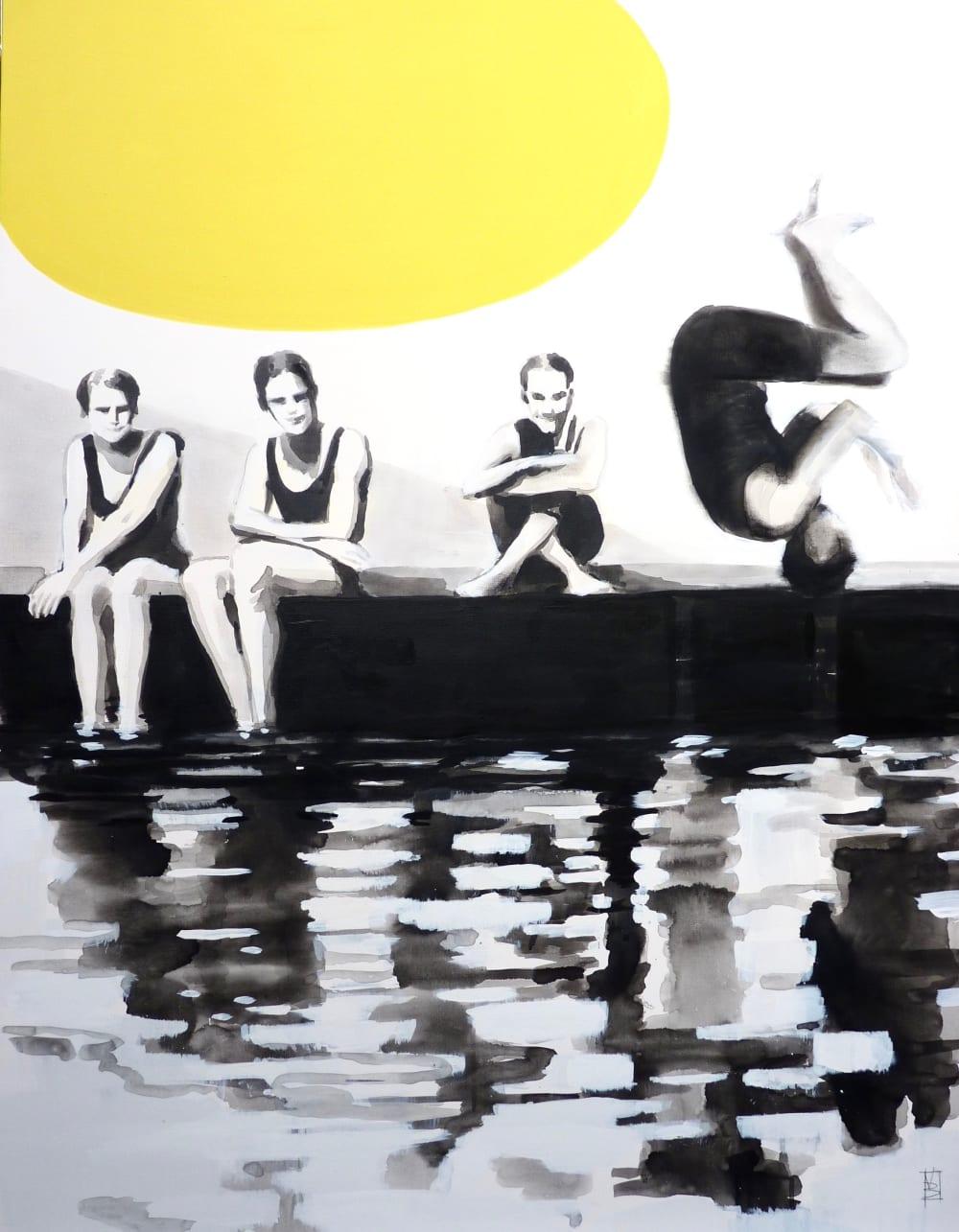 Le saut au ponton - Valérie Betoulaud