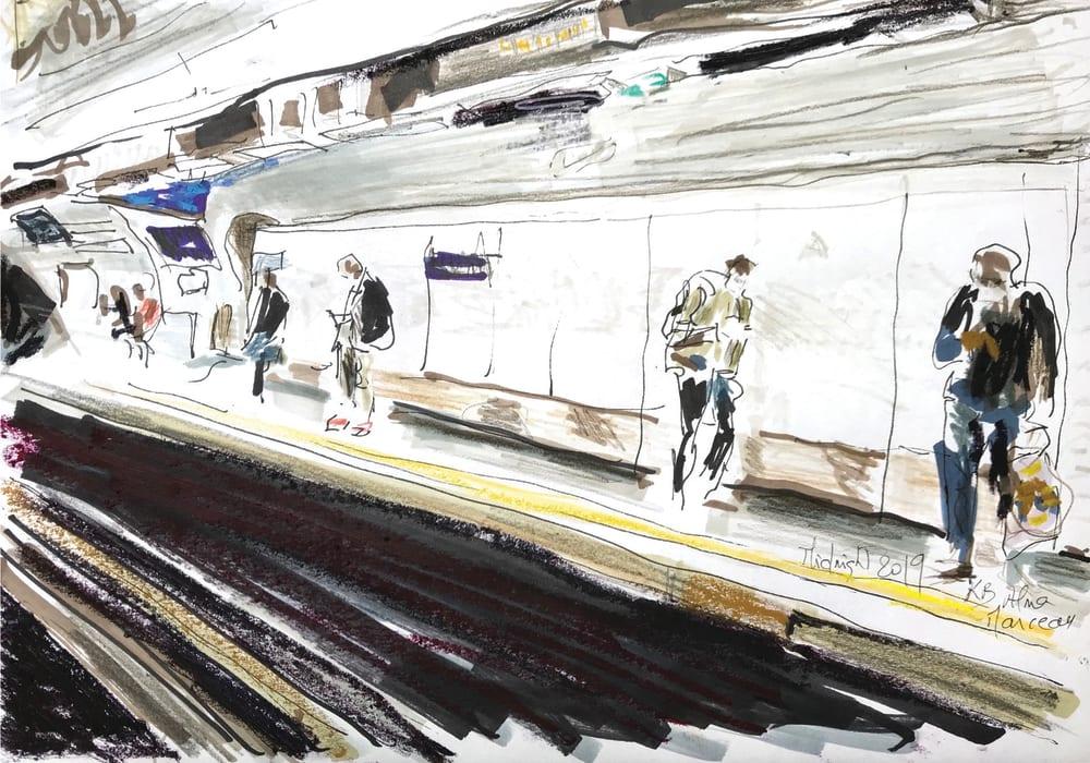 Metro Station - Alma Marceau  - Karin Boinet