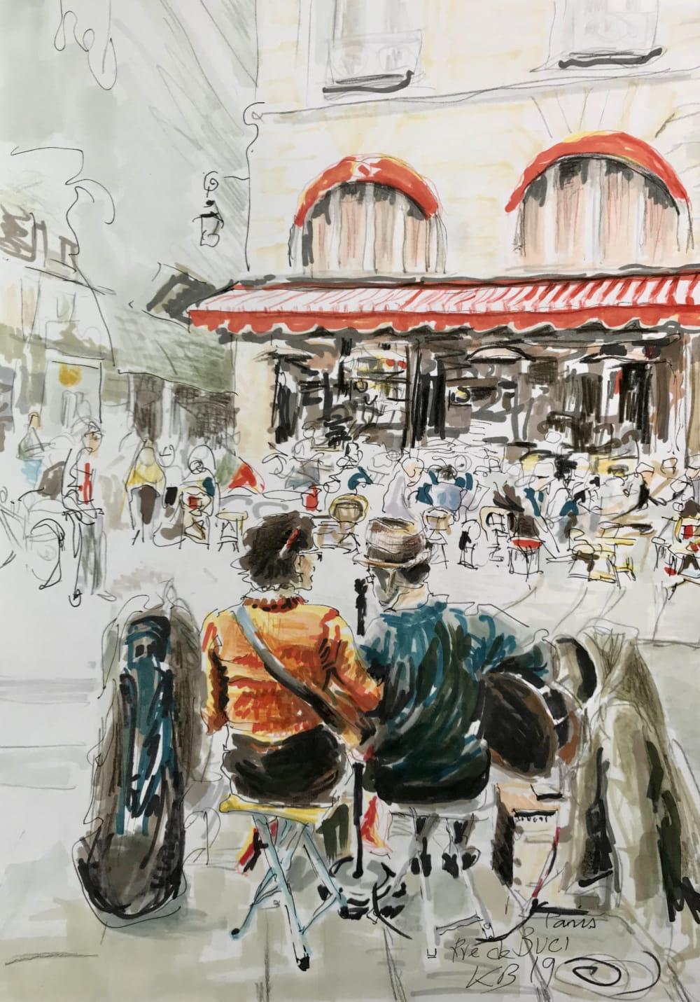 Rue de Buci - Karin Boinet
