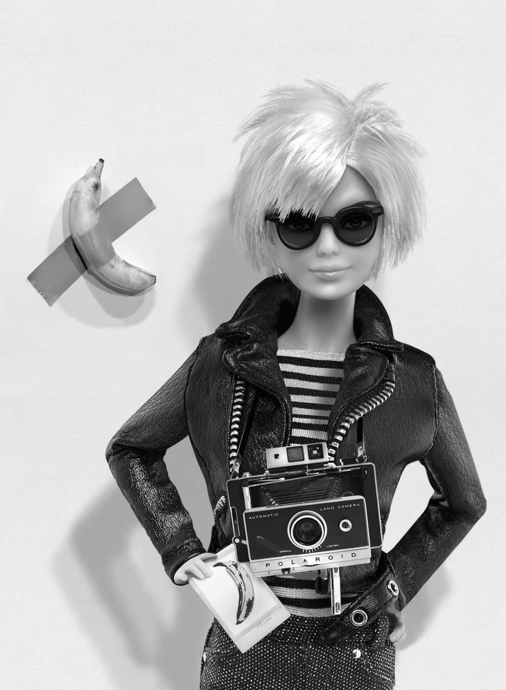 Barbie Andy Warhol Polaroid  - Michel Tréhet