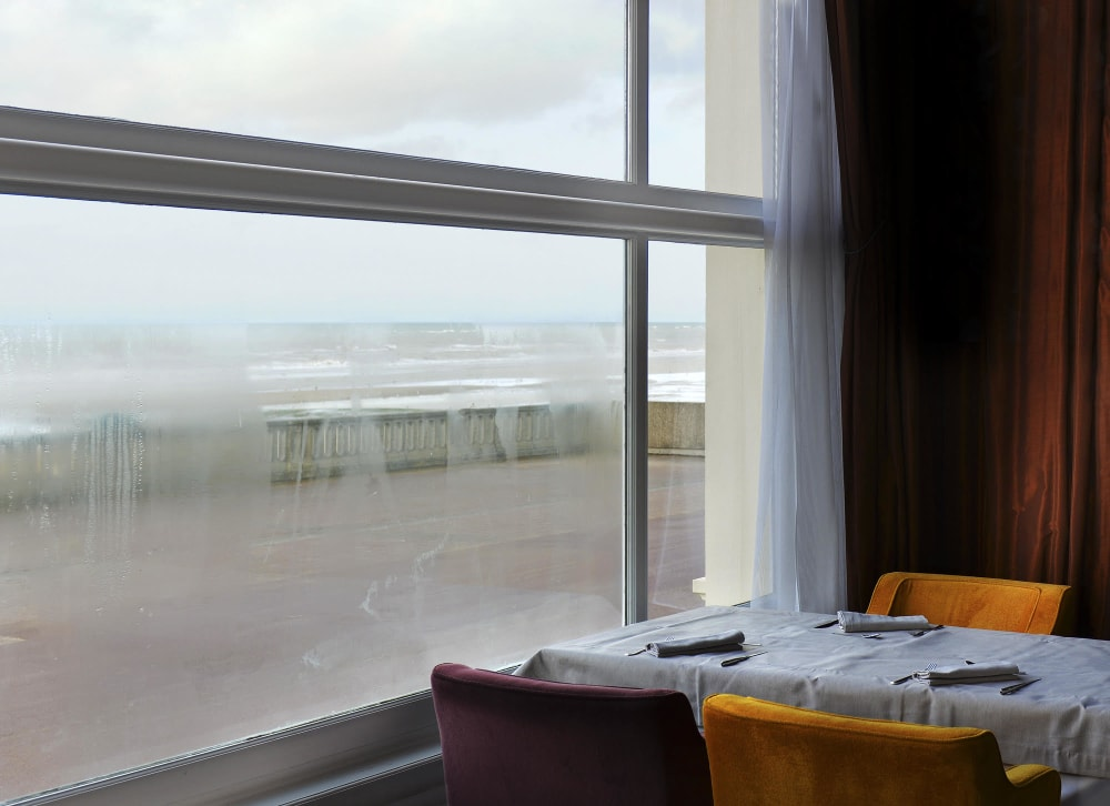Vue du grand hôtel de Cabourg - Michel Tréhet