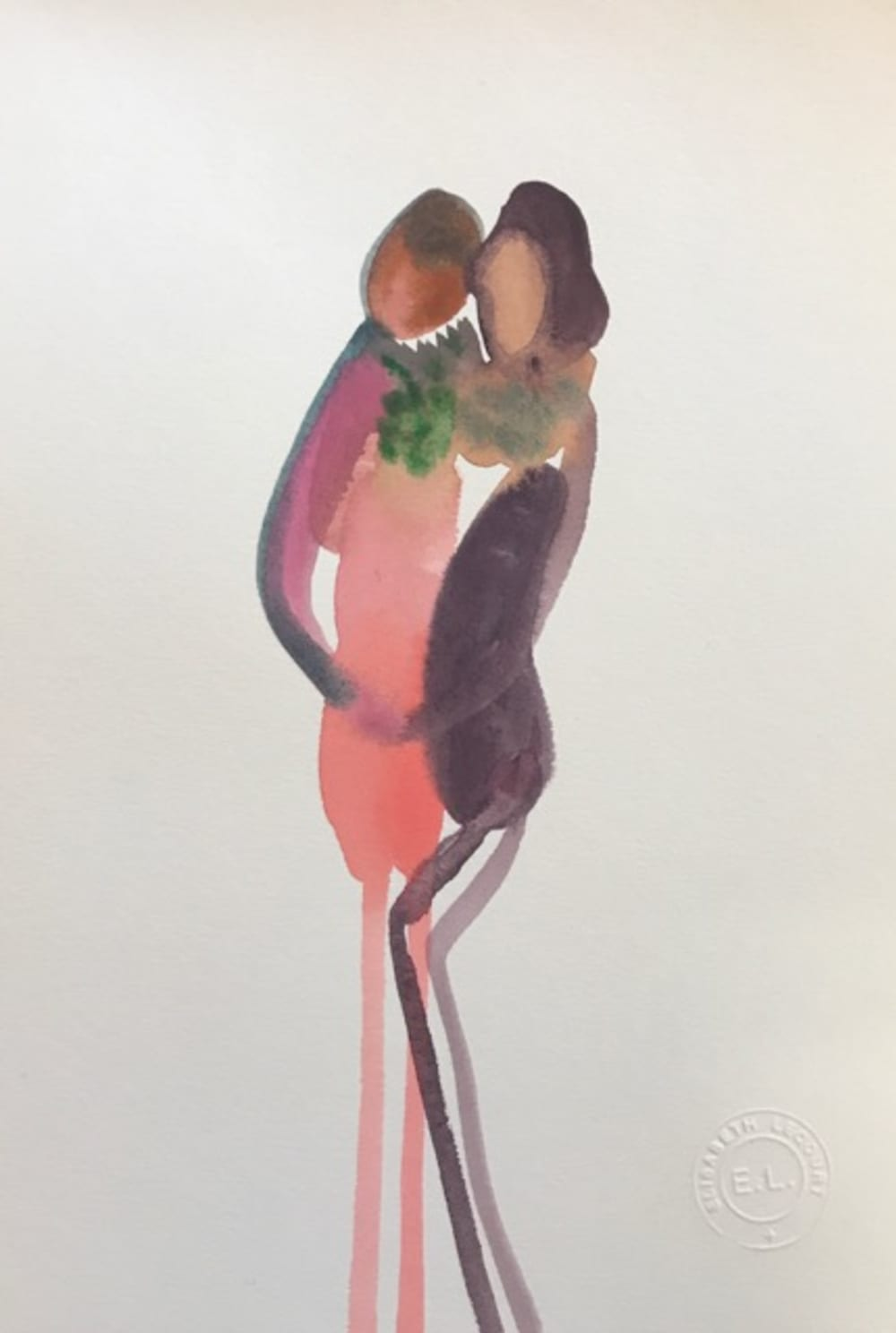 Les raisins en collier - Elisabeth Lecourt