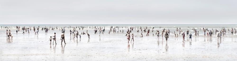 Bord de plage - Michel Tréhet