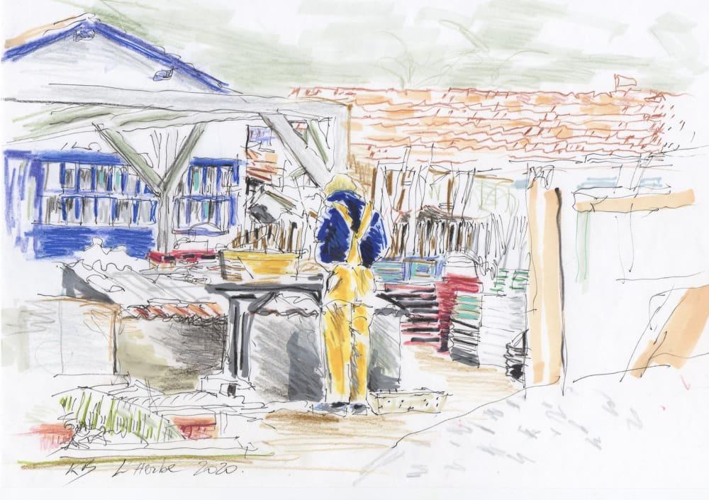 La cabane à huitre - Karin Boinet