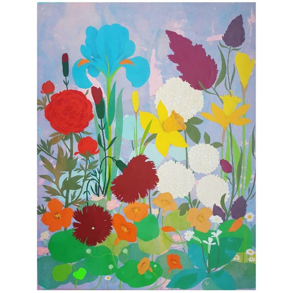 Les fleurs d'été - Karine Daisay