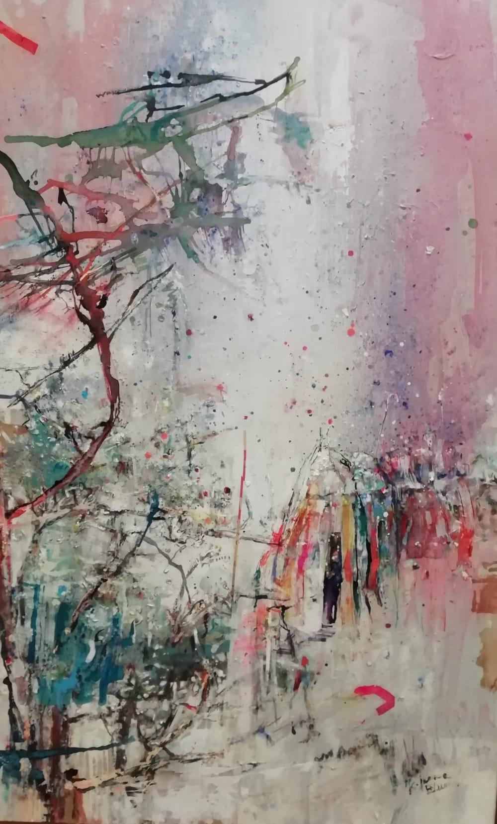 Jardin en ville - Karin  Jeanne Blum