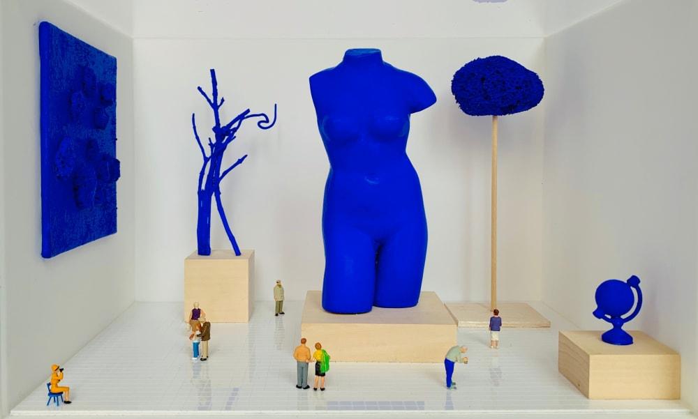 Exposition Yves Klein  - Béatrice Lecomte