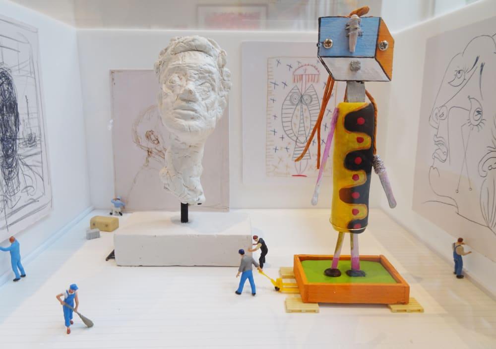 Au musée d'Art Moderne  - Béatrice Lecomte