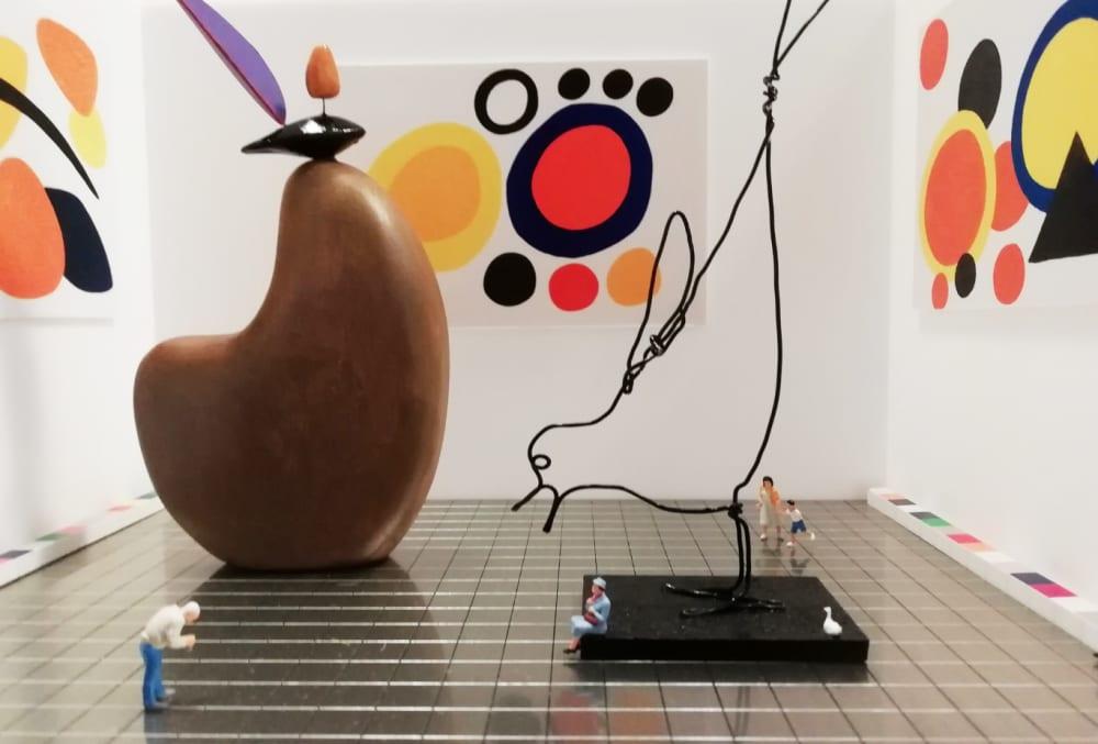 L'exposition Calder  - Béatrice Lecomte