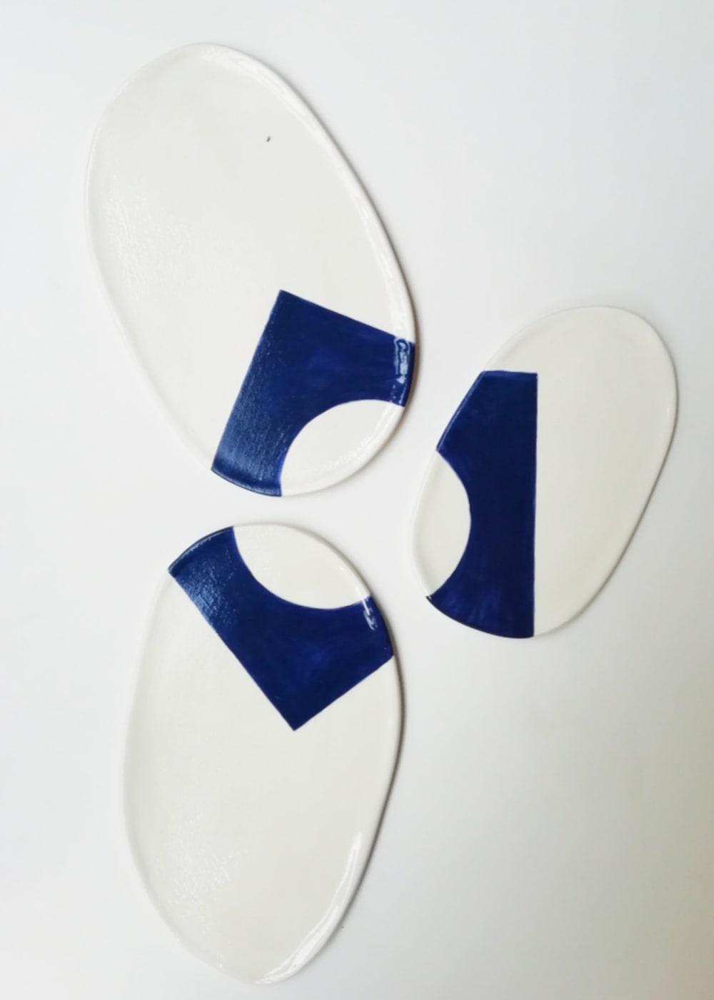 Assiettes Géométriques - Véronique Le Besnerais
