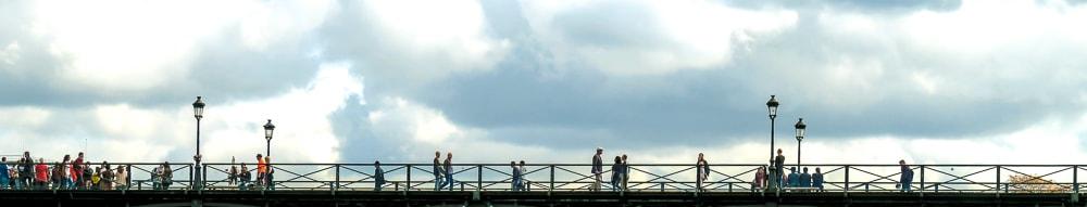 Le pont des arts  - Catherine  Bisiaux