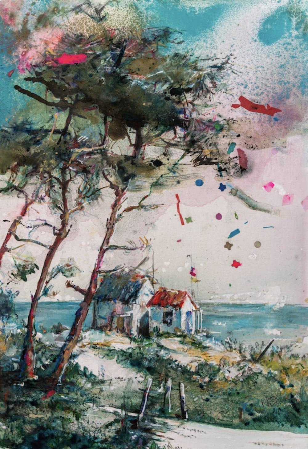 Cabanes  - Karin  Jeanne Blum