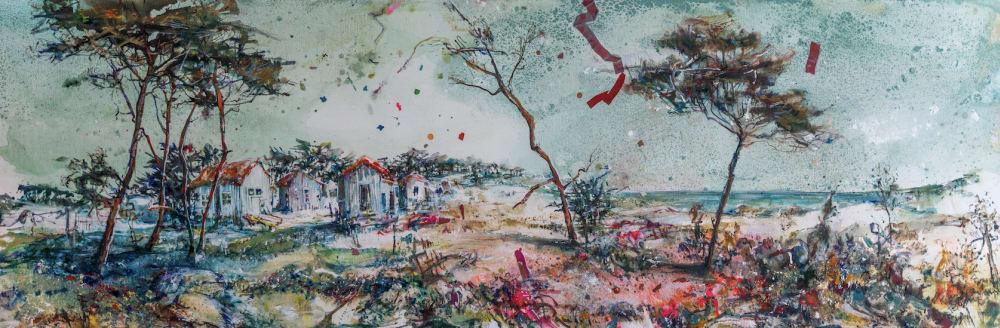 Petite cabane  - Karin  Jeanne Blum