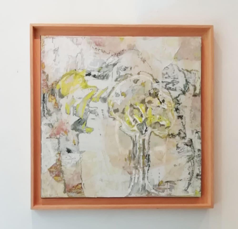 Abstrait jaune  - Karin Boinet