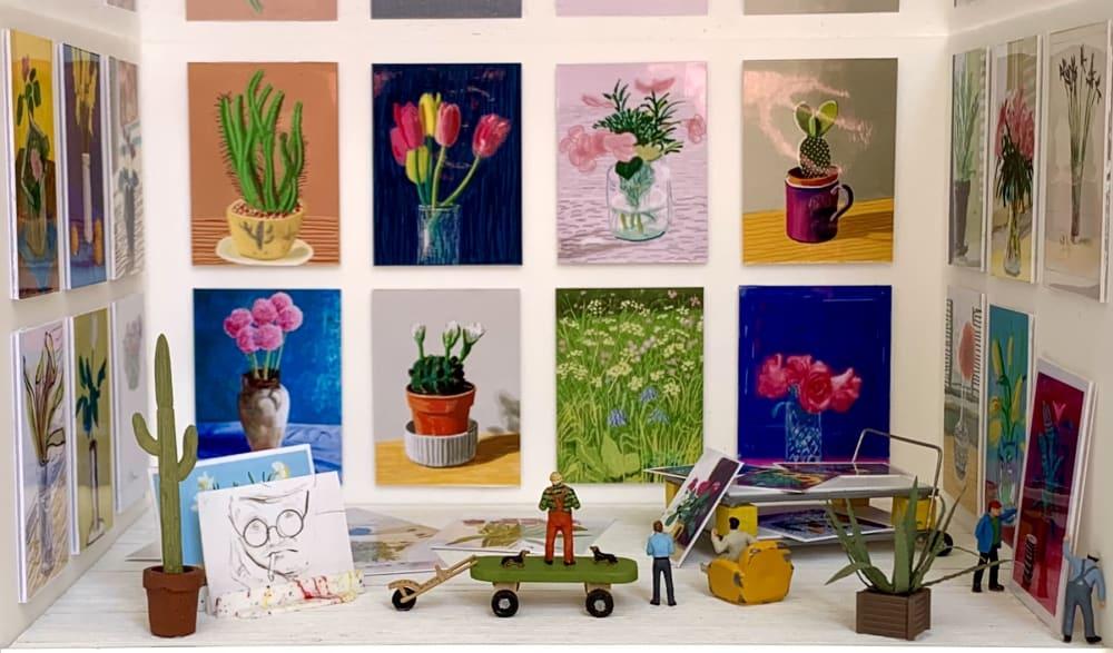 L'atelier de David Hockney - Béatrice Lecomte