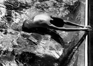 Le nageur de Michel Tréhet