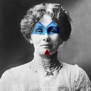 Emmeline Pankhurst de Jules Viera
