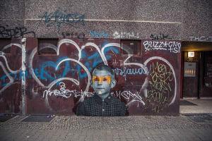 Dewey | Berlin, Wienerstrasse | 2016 de Jules Viera