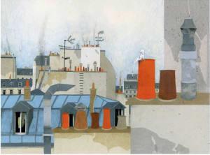 Les toits de Paris  de Karine Daisay