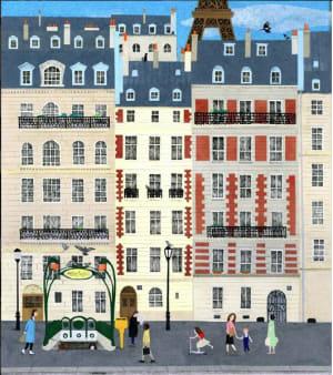 Paris sous le soleil de mai de Karine Daisay