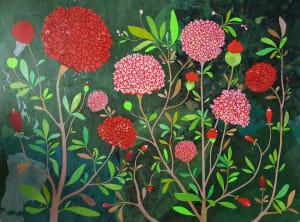 Les hortensias  de Karine Daisay