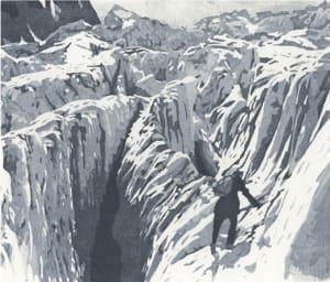 Montagne VII de Nicole  Guézou