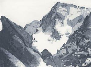 Montagnes II de Nicole  Guézou