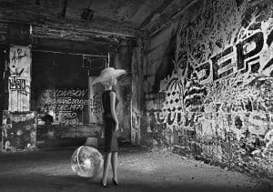 La parisienne aux Bains douches de Michel Tréhet